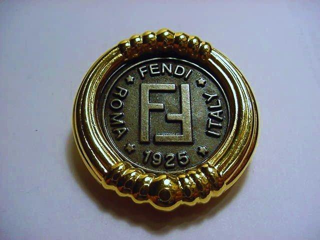 FENDI COIN PIN