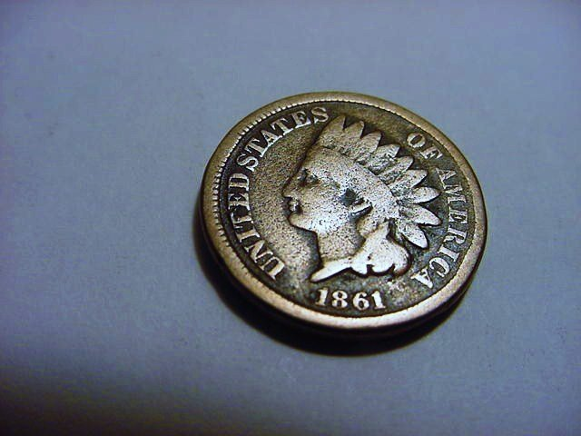 1861 INDIAN CENT