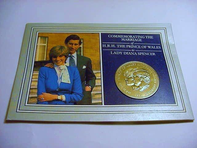 1981 BRITISH WEDDING CROWN B.U.