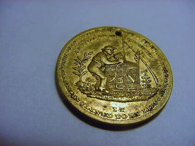 EARLY TEMPERANCE MEDAL