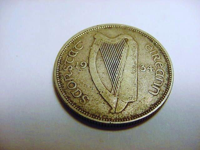 1934 IRELAND FLORIN