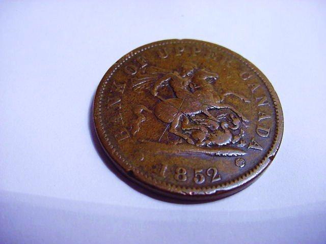 1852 CANADA BANK TOKEN