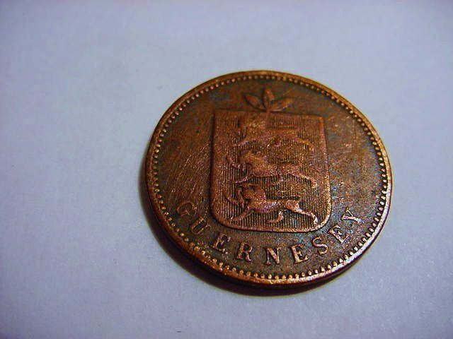 1830 GUERNESEY 4 DOUBLES