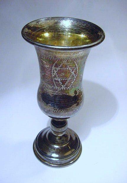 VINTAGE STERLING KIDDISH CUP