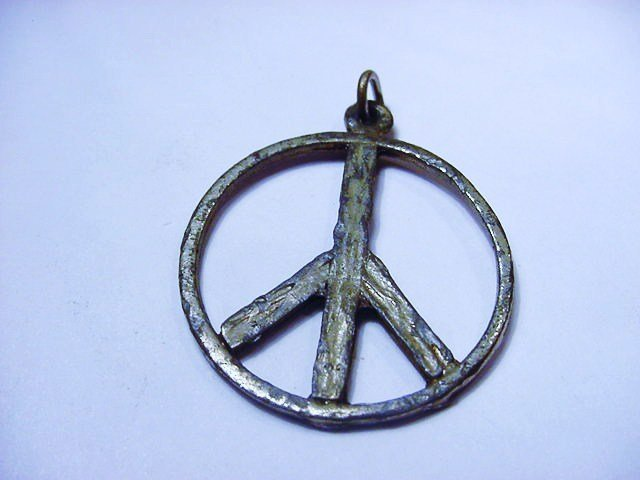 VINTAGE PEACE SYMBOL PENDANT
