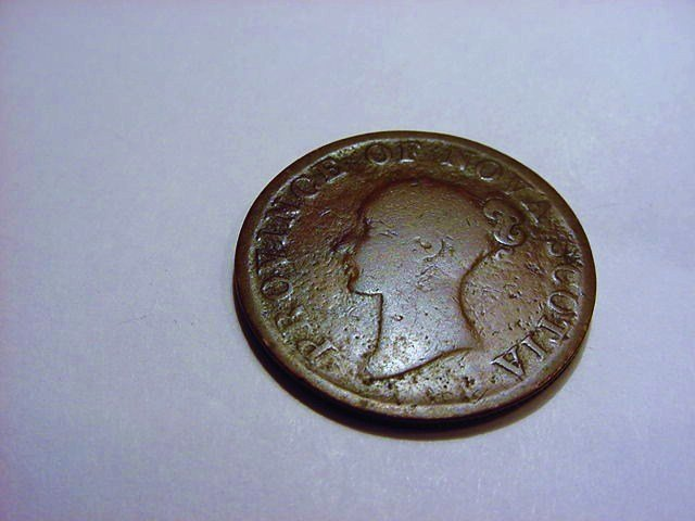 1840 NOVA SCOTIA HALF PENNY TOKEN