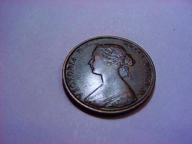 1864 NEW BRUNSWICK ONE CENT