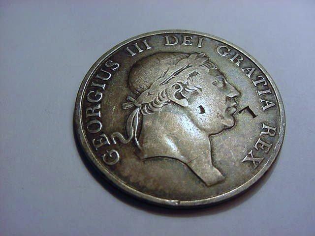 1812 BRITISH 3 SHILLING BANK TOKEN COUNTERMARKED