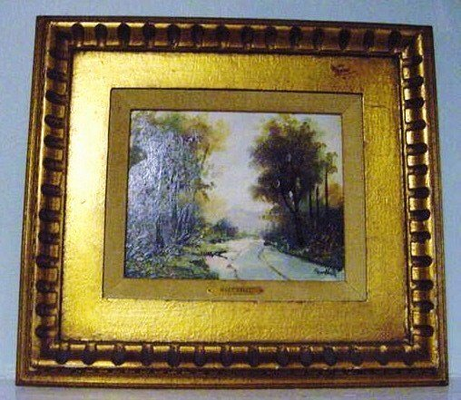 MARTINELLI SIGNED OIL PAINTING