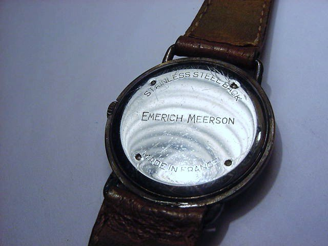 EMERICH MEERSON PARIS WATCH WORKS - 3