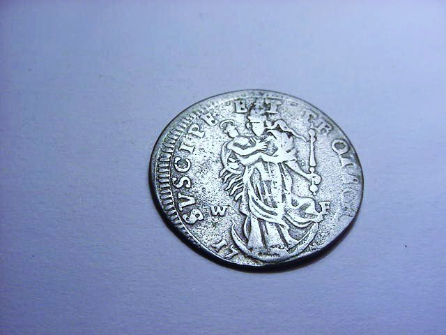 1700'S SILVER EUROPEAN COIN