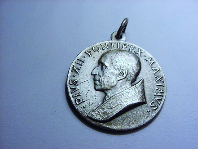 POPE PIUS XII 80TH BIRTHDAY MEDAL