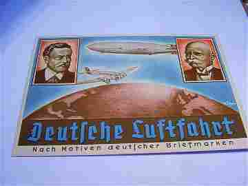 1936 GERMAN ZEPPELIN COVER
