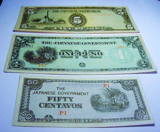 [3] WWII JAPANESE OCCUPATION BANKNOTES