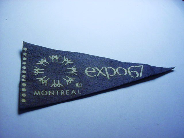 1967 MONTREAL EXPO PENNANT