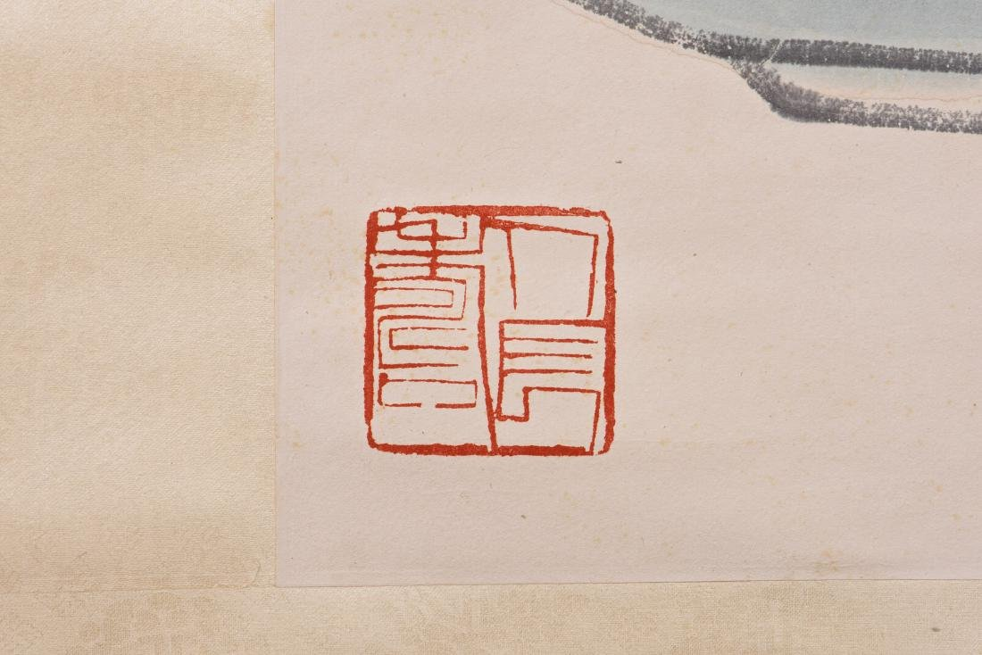 A CHINESE SCROLL PAINTING, AFTER QI BAISHI - 5