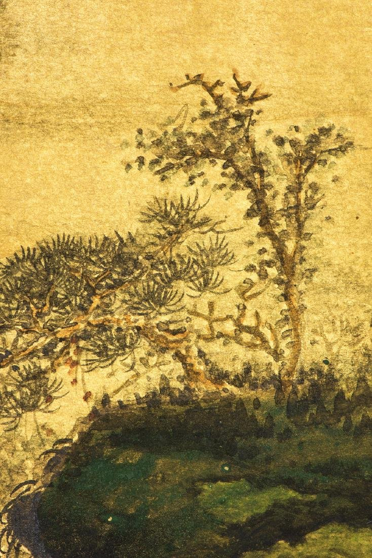 A CHINESE PAINTING OF LANDSCAPE, AFTER SUN YUNSHENG - 3