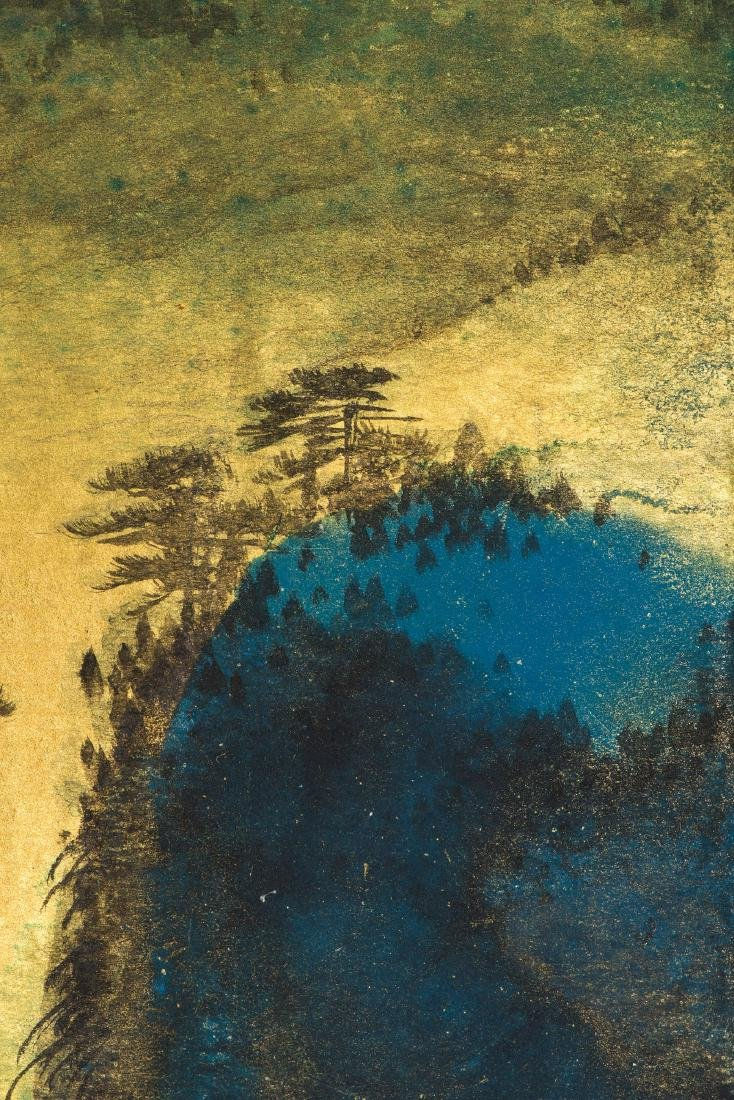 A CHINESE PAINTING OF LANDSCAPE, AFTER SUN YUNSHENG - 5