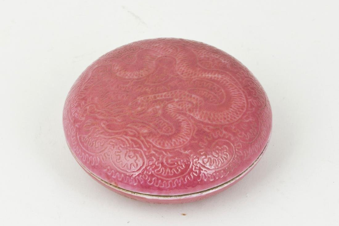 A porcelain dish for inkpad - 3