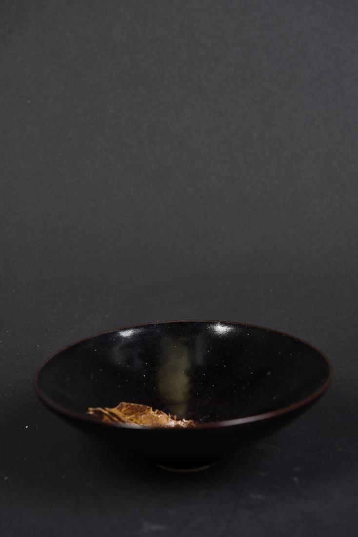 A LEAF TEA BOWL