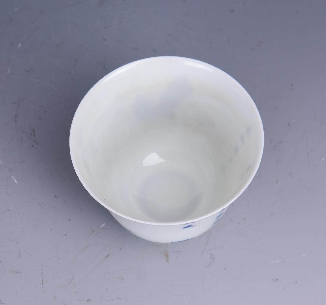 A WUCAI PORCELAIN CUP - 8
