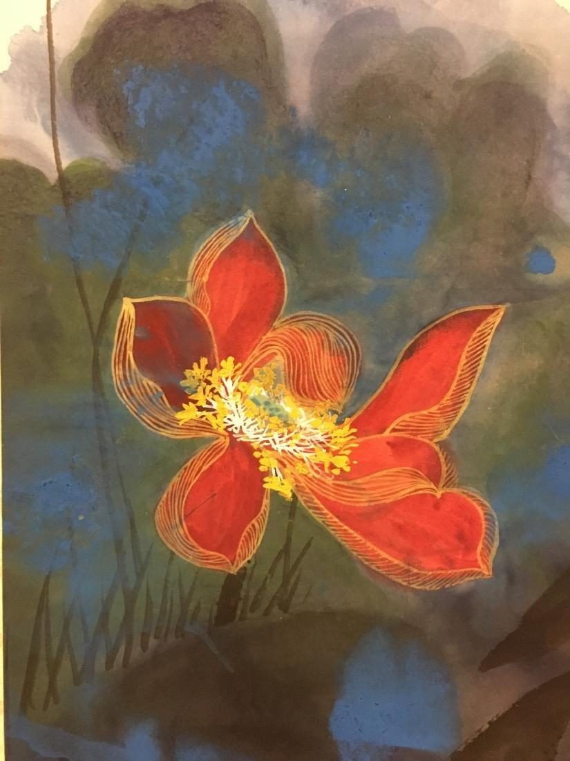 ZHANG DAQIAN (1899-1983, ATTRIBUTED TO), LOTUS - 3