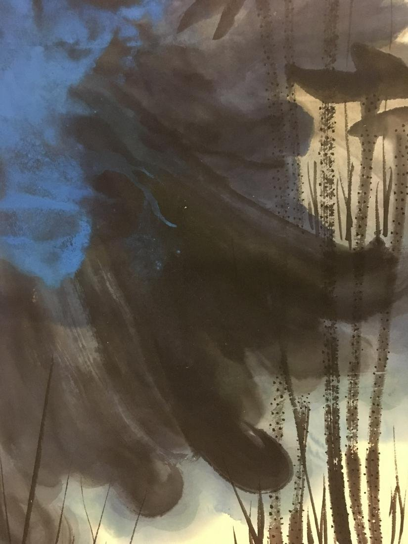 ZHANG DAQIAN (1899-1983, ATTRIBUTED TO), LOTUS - 4