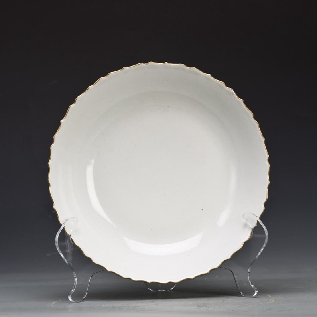 A Porcelain Plate of the Eight Immortals