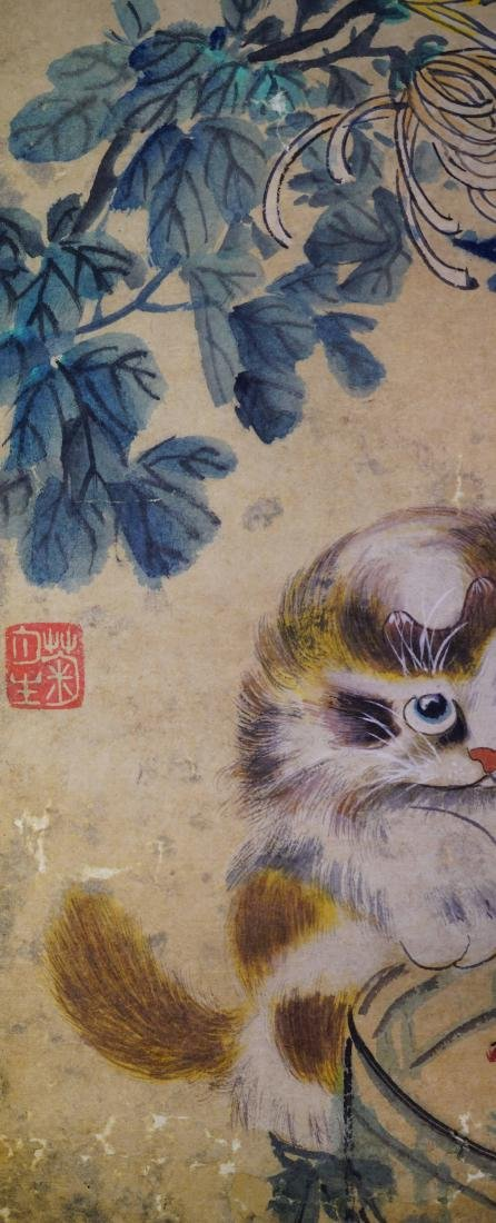 A SET OF FOUR CHINESE PAINTINGS OF LANDSCAPE AND - 9
