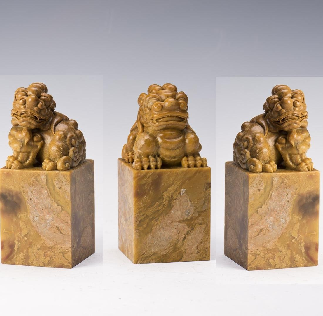 THREE LION SEALS