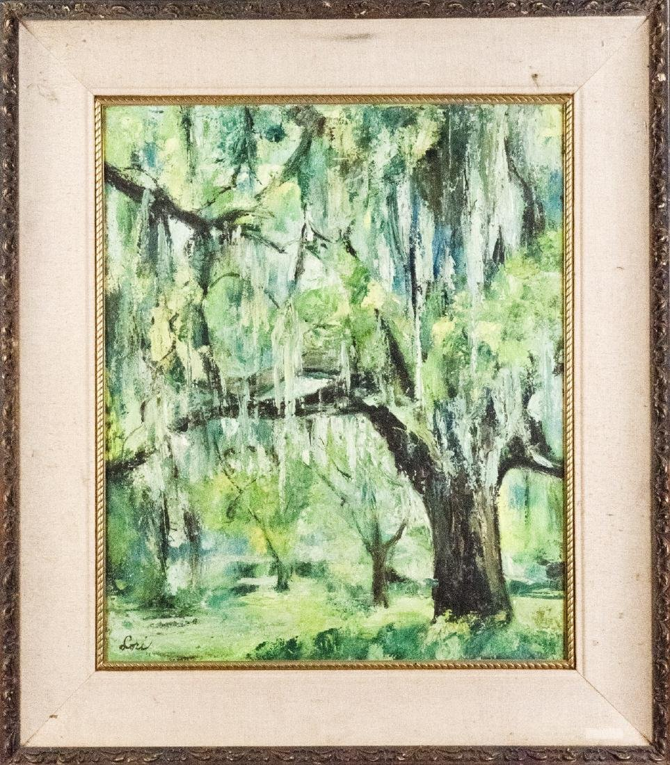 OIL PAINTING WITH FRAME
