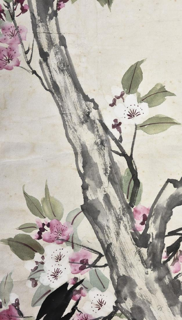 A CHINESE SCROLL PAINTING OF COCK - 3