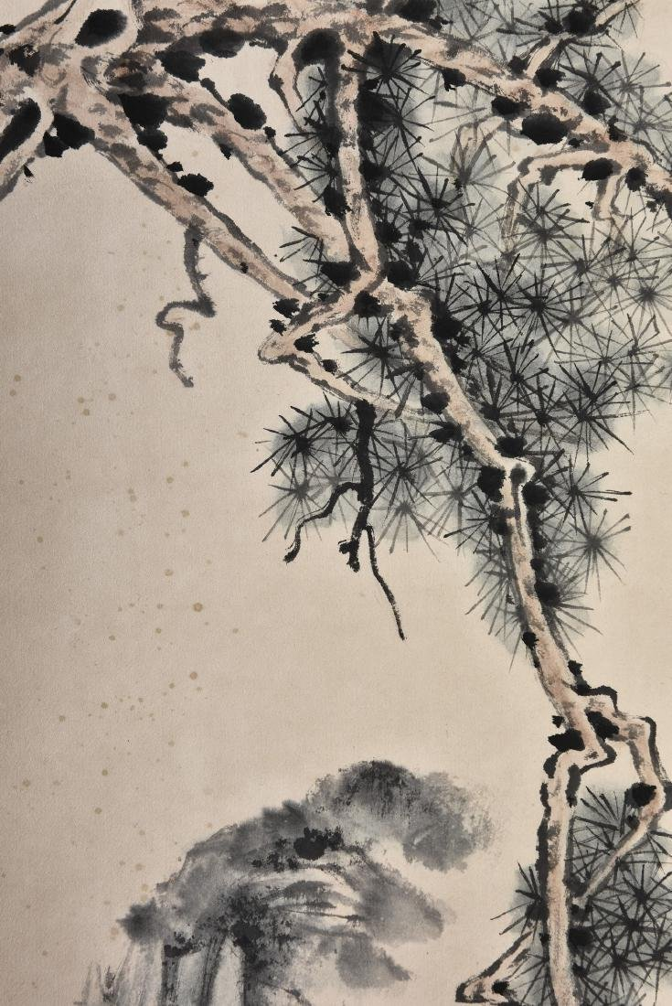 A CHINESE SCROLL PAINTING OF SCHOLAR - 5