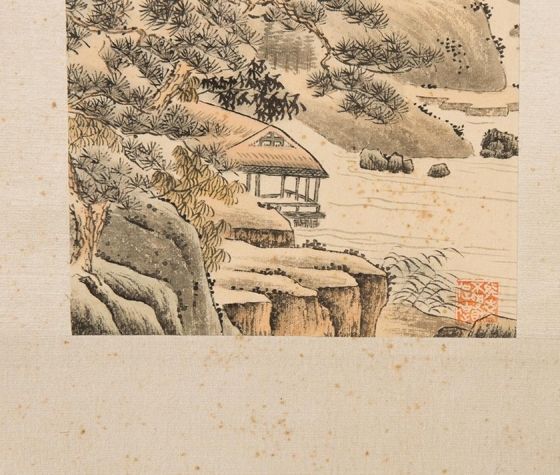 A CHINESE  PAINTING OF LANDSCAPE - 3