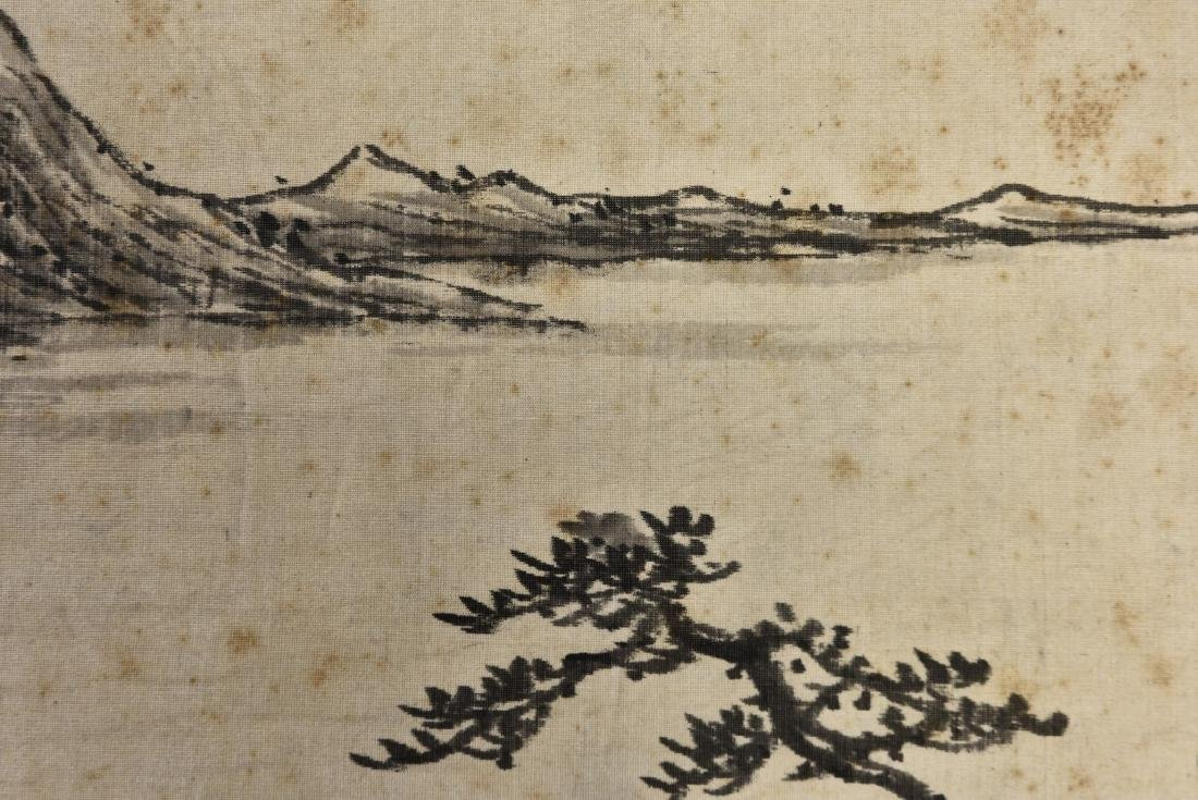 A CHINESE SCROLL PAINTING OF LANDSCAPE - 5