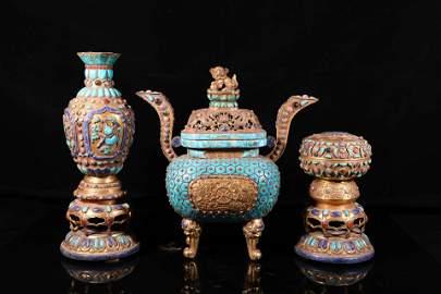 A Set of Ritual Wares