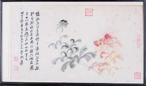 ZHANG DAQIAN (1899-1983), FLOWER