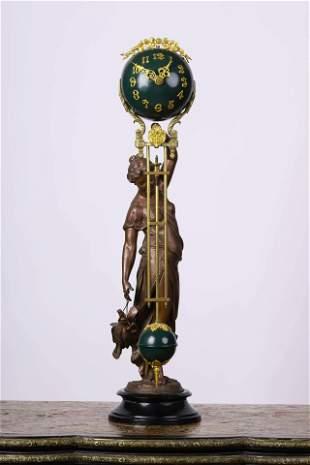 A Western Beauty Clock