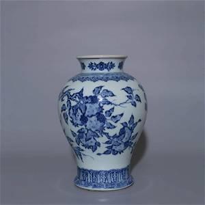 BLUE AND WHITE SANDUO GUANYIN ZUN