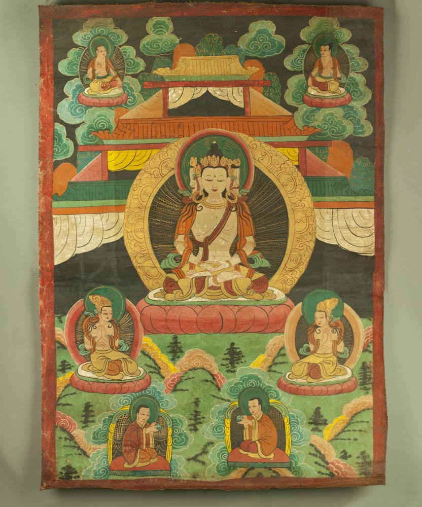 605: Antique ThangKa