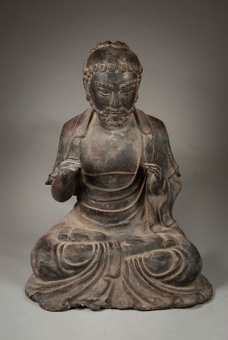 606: Bronze Seated Buddha