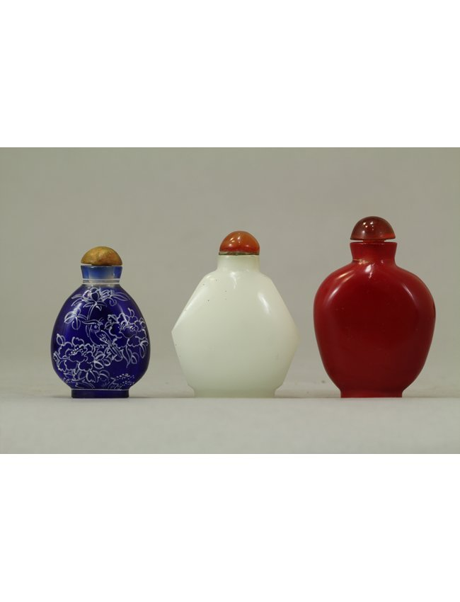 2: Chinese Snuff Bottle Collection of Three