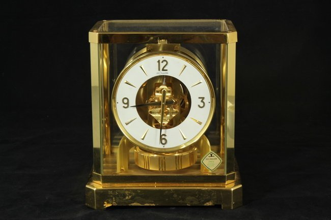 301: Le Coultre Atmos Perpetual Motion Clock