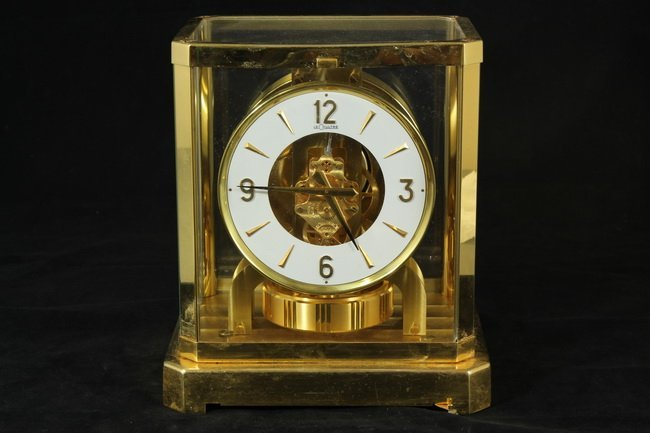 302: Le Coultre Atmos Perpetual Motion Clock