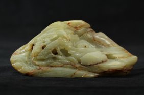 320: Chinese Landscape Jade Carving