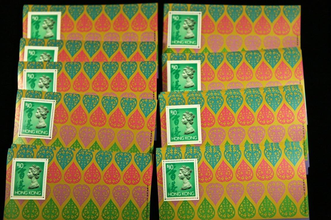 One Stack (51 sheets) of Unused Hong Kong Definite Stam