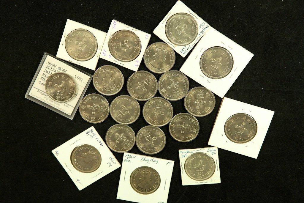 Queen Elizabeth coins  1960 1