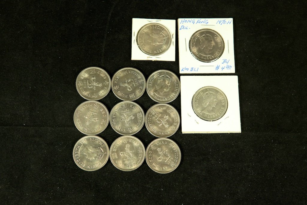 Queen Elizabeth coins 1970  1