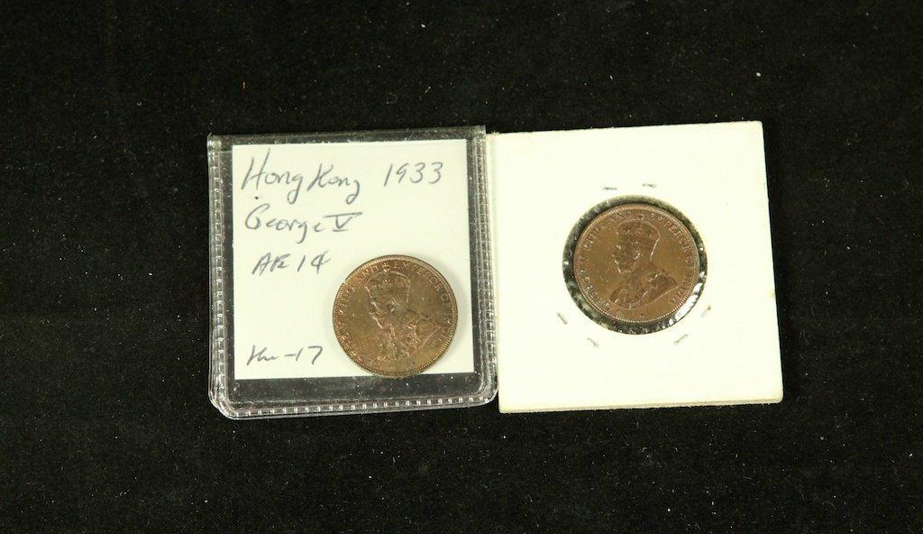 George V king coins 1933  1
