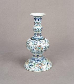 A Chinese Doucai Porcelain Vase